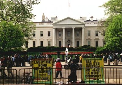 Continual Protest at the Whitehouse