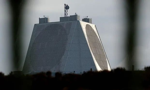 RAF Fylingdales can only detect objects up to 12,000 miles away while the Deep Space Advanced Radar Capability would look much further into space. Photograph: John Giles/PA