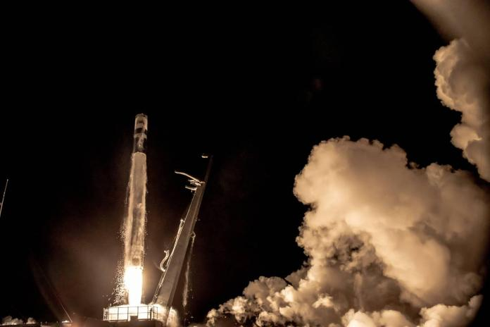Rocket launches from New Zealand carrying experimental Air Force Research Laboratory Satellite into low earth orbit on July 29, 2021. [Source: c4isrnet.com]