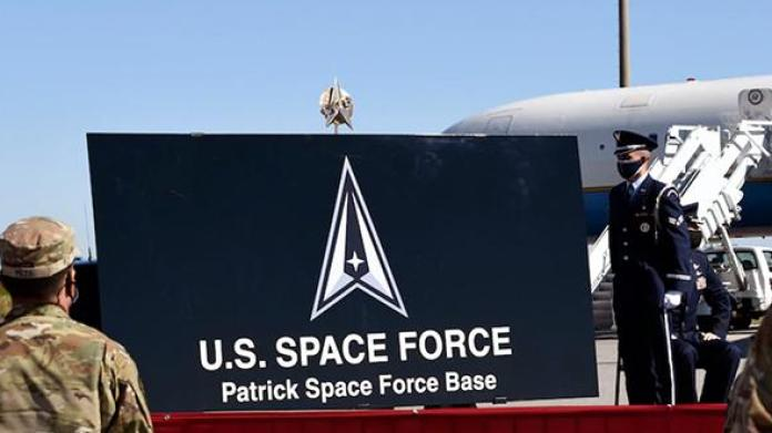 Newly renamed Space Force base at Cape Canaveral in Florida. [Source: spacecoastdaily.com]