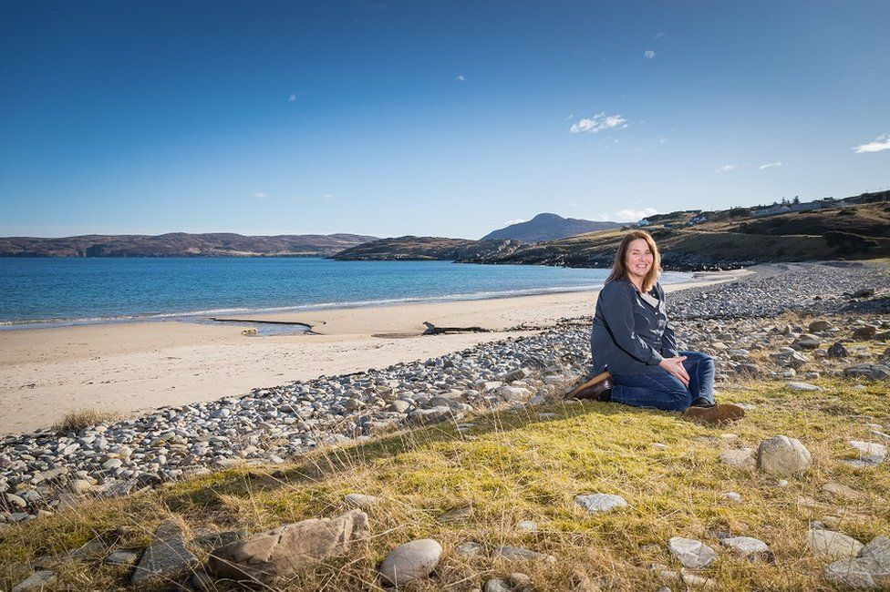 Crofter Dorothy Pritchard expects a space port in Sutherland to create much-needed skilled jobs