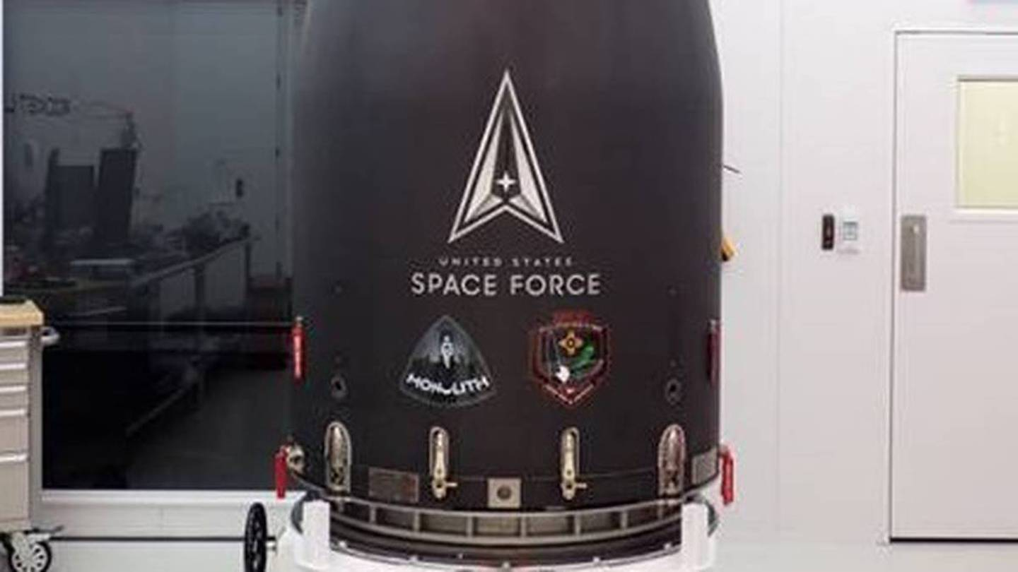 One of Rocket Lab's current Electron rockets launched a satellite for the US Air Force's Space Force division from Mahia in July. Photo / Supplied