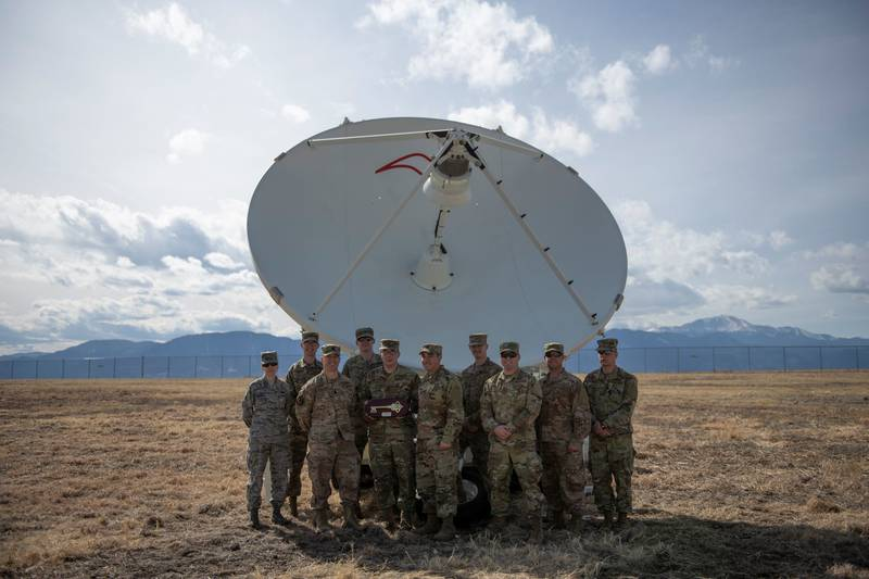 The Counter Communications System is used to jam enemy satellites. (Airman 1st Class Andrew Bertain/U.S. Air Force)