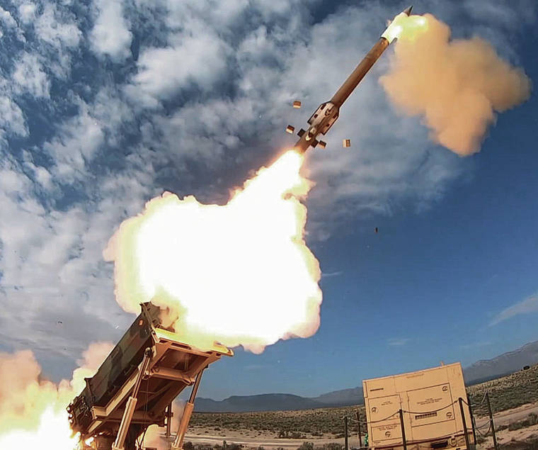 The Army Patriot missile has intercepted more than 150 ballistic missiles since 2015.