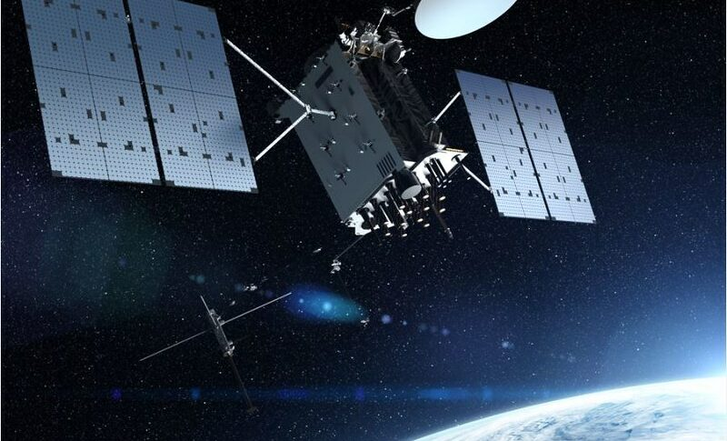 GPS 3F satellite artist rendition. Credit: Lockheed Martin