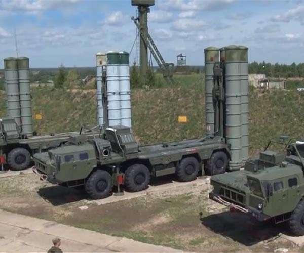 File image of a test rig for the S-500.