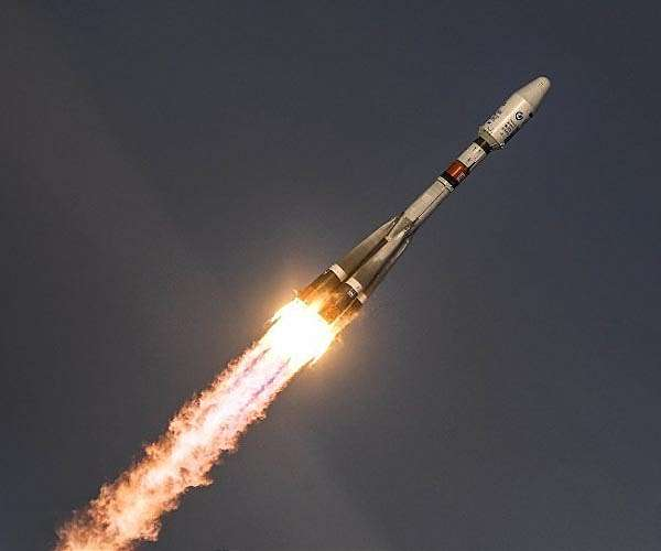 File image of the Soyuz 2.1b carrier rocket shortly after launch.