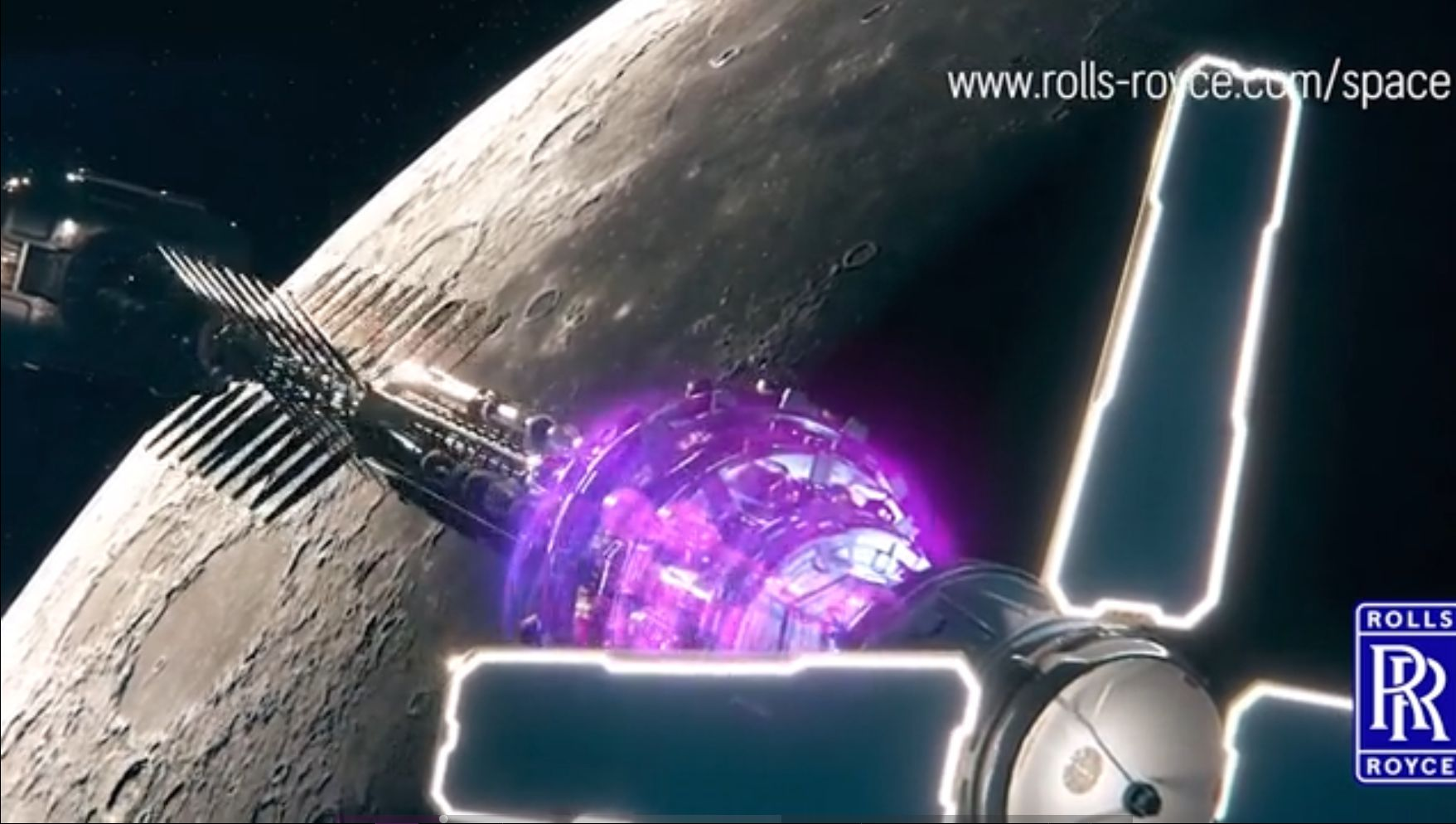 Rolls-Royce plans to mine on the moon