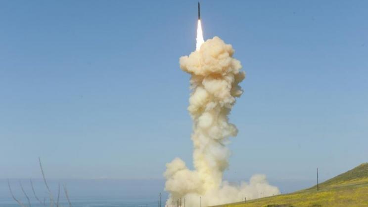 US missile defence system intercepts ICBM target in test. Photo: Missile Defense Agency/Lisa Simunaci